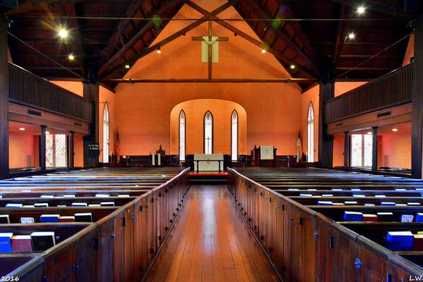Photograph - Church Of The Cross Sanctuary Bluffton Sc  by Lisa Wooten