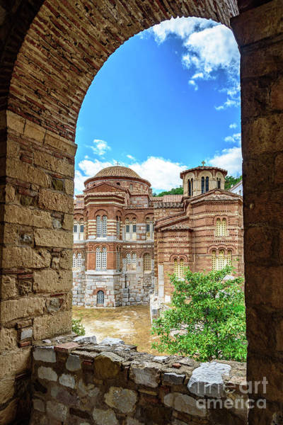 Photograph - Church Of The Holy Luke At Monastery Of Hosios Loukas In Greece by Global Light Photography - Nicole Leffer