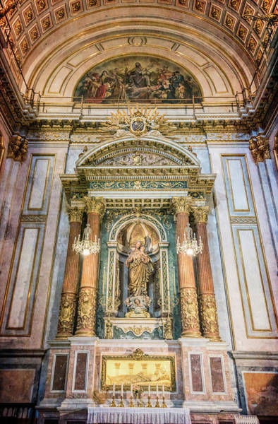 Photograph - Church Of The Sacred Heart Of Jesus Valencia Spain by Joan Carroll