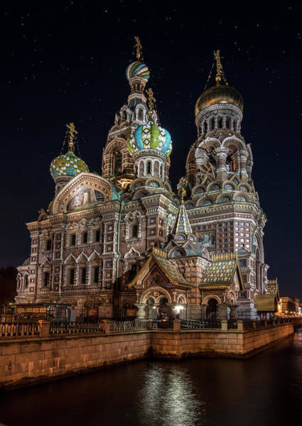 Wall Art - Photograph - Church Of The Savior On Spilled Blood by Jaroslaw Blaminsky