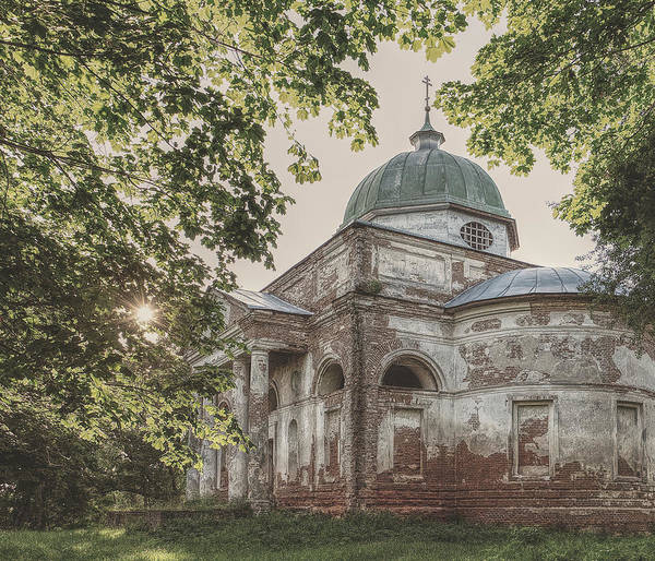 Photograph - Church Of The Trinity. Bihach, 2017. by Andriy Maykovskyi