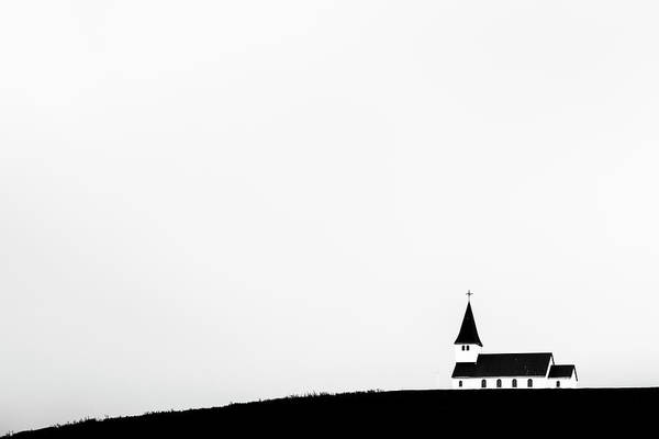 Photograph - Church Of Vik by Hitendra SINKAR