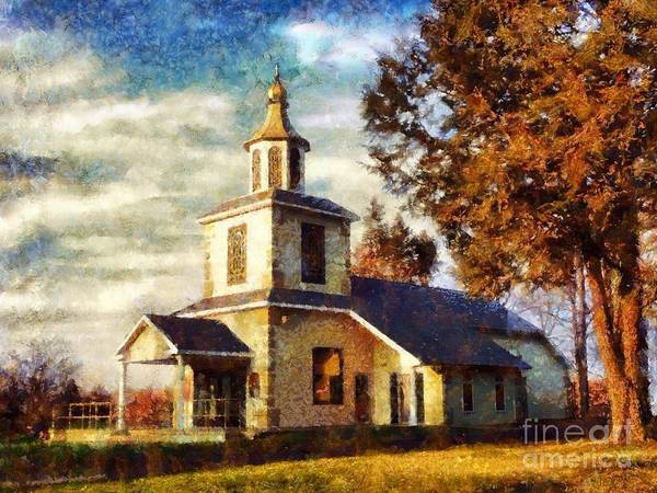 Sunday Afternoon Wall Art - Photograph - Church On A Sunday Afternoon by Janine Riley