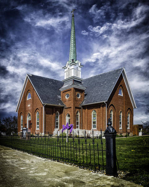 Photograph - Church On Main In Elizabethville  by Nick Zelinsky