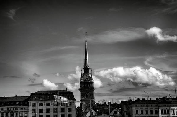 Wall Art - Photograph - Church On Skyline I by Ramon Martinez