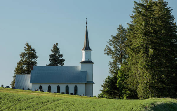Photograph - Church On The Hill by Bob Cournoyer