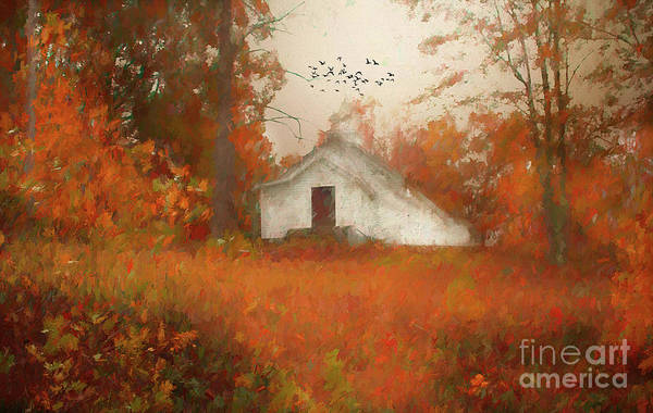 Wall Art - Photograph - Church On The Hill by Darren Fisher