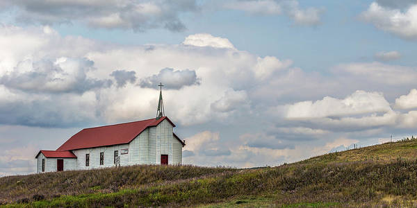 Photograph - Church On The Hill by Peter Tellone