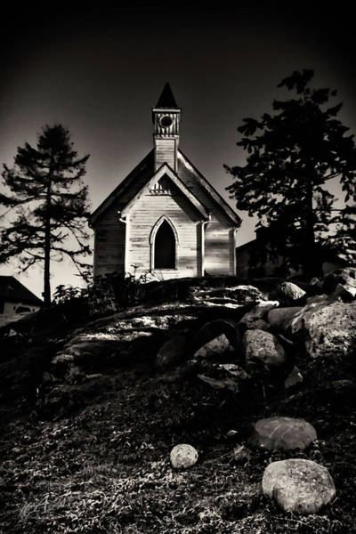 Black Friday Wall Art - Photograph - Church On The Hill by Thomas Ashcraft