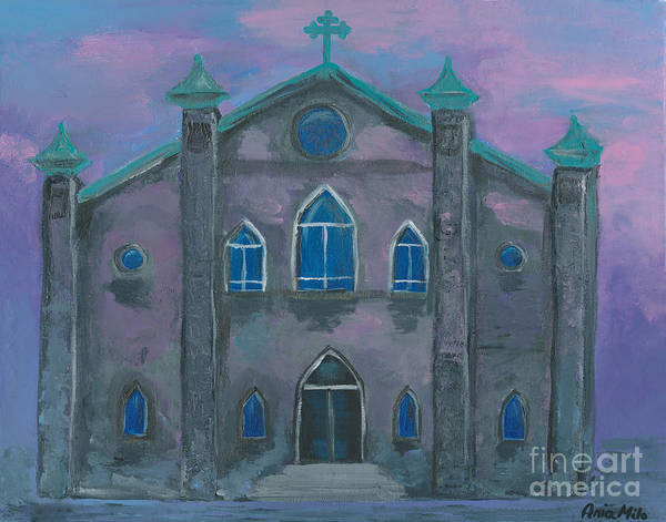 Painting - Church On The Square by Ania M Milo