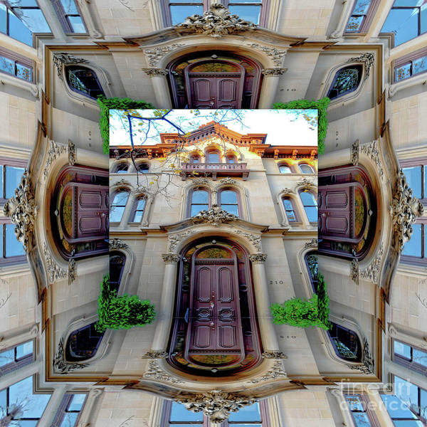 Photograph - A Church Rectory by Walter Neal