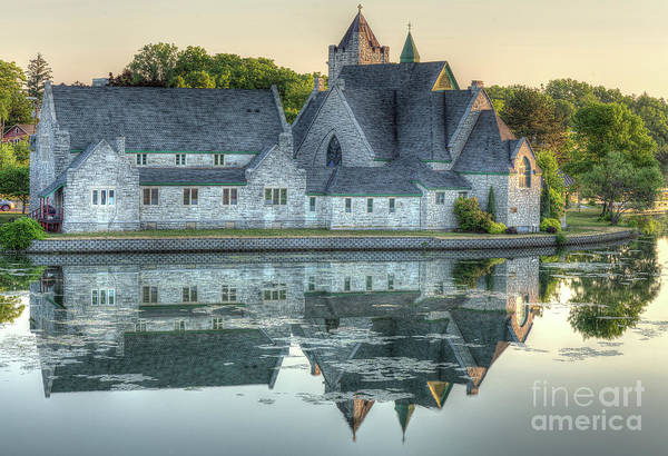 Photograph - Church Reflection by Rod Best