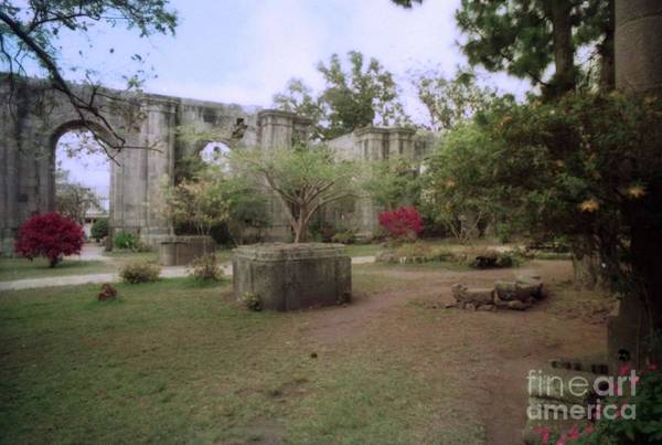 Photograph - Church Ruins Costa Rica by Ted Pollard