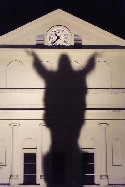 Consciousness Wall Art - Photograph - Church Shadow by Garry Gay