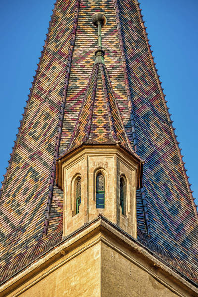 Photograph - Church Spire Details - Romania by Stuart Litoff