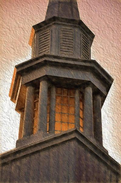 Photograph - Church Steeple 2 by Phyllis Meinke