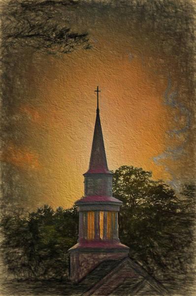 Photograph - Church Steeple 3 by Phyllis Meinke