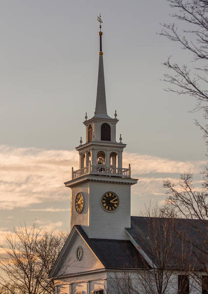 Photograph - Church Steeple by Brian MacLean