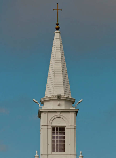 Digital Art - Church Steeple by Ed Cabral