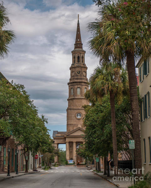 Photograph - Church Street In Charleston Sc by Dale Powell