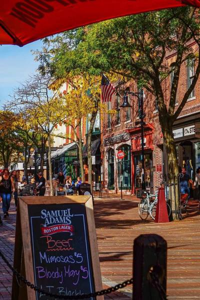 Photograph - Church Street Marketplace by Kendall McKernon