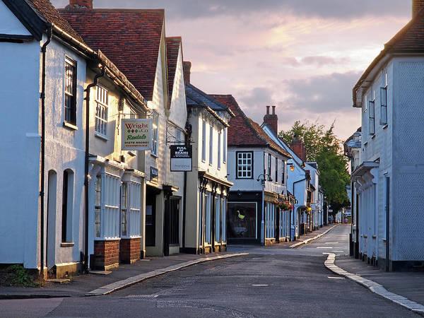 Photograph - Church Street Sawbridgeworth by Gill Billington