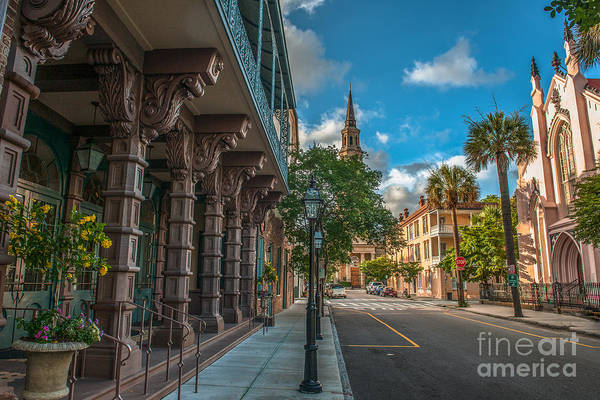 Photograph - Church Street View by Dale Powell