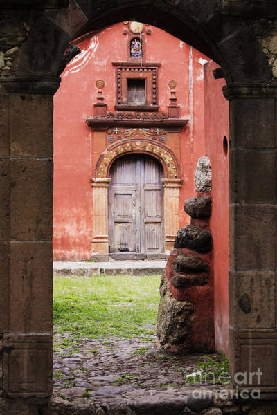 Wall Art - Photograph - Church Through Archway by Jeremy Woodhouse