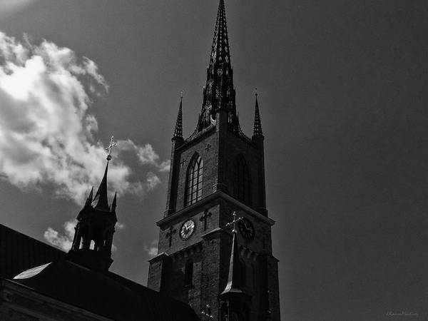 Wall Art - Photograph - Church Tower by Ramon Martinez