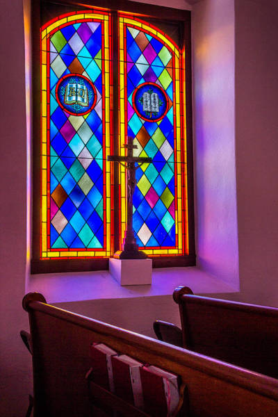 Photograph - Church Window Art by James Woody