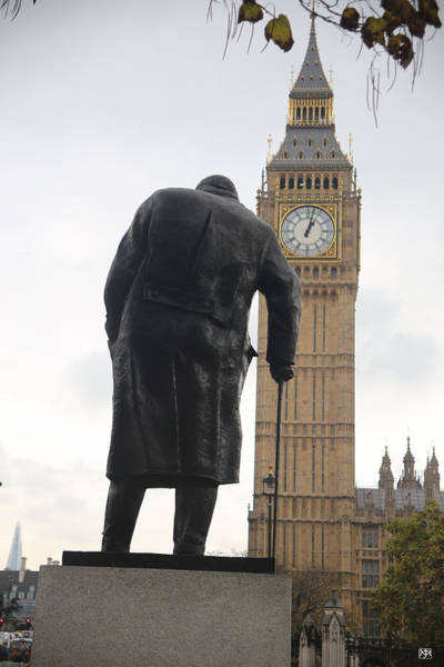 Photograph - Churchill Heads To Westminster by John Meader