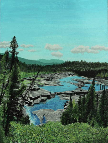 Painting - Churchill River by Thom Barker