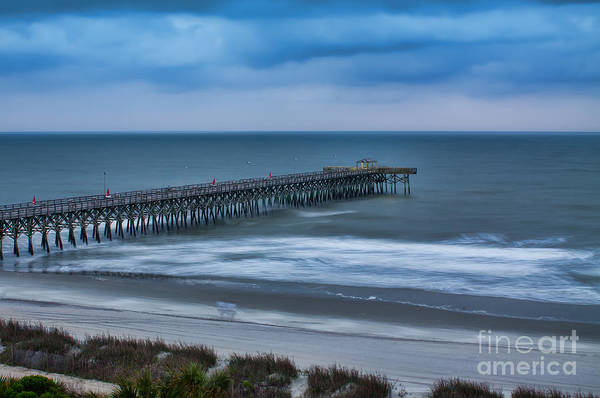 Photograph - Churning Waves by Dave Bosse