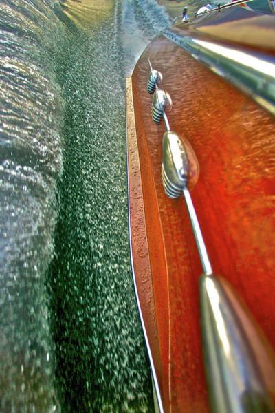 Photograph - Ciao Spray Rail by Steven Lapkin