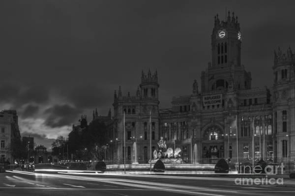 Photograph - Cibeles Square Madrid Spain by Pablo Avanzini