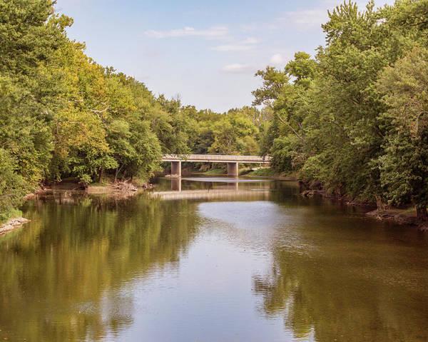 Photograph - Cicero Indiana Bridge by Sally Sperry