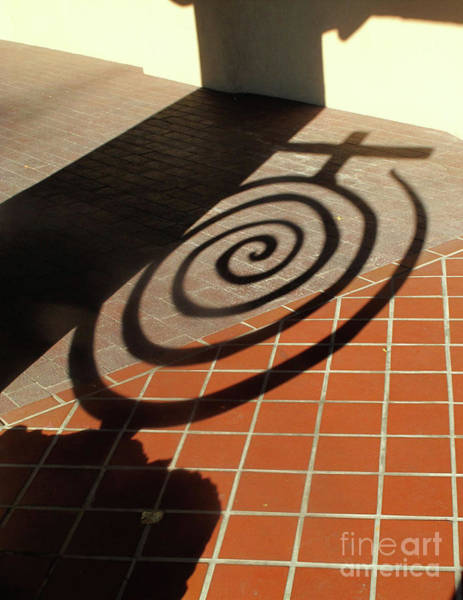 Photograph - Cicular Shadow, Sfe by Mary Kobet