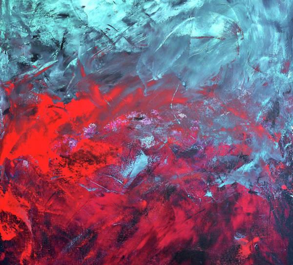 Painting - Cielo Y Sangre by Lorenzo Muriedas