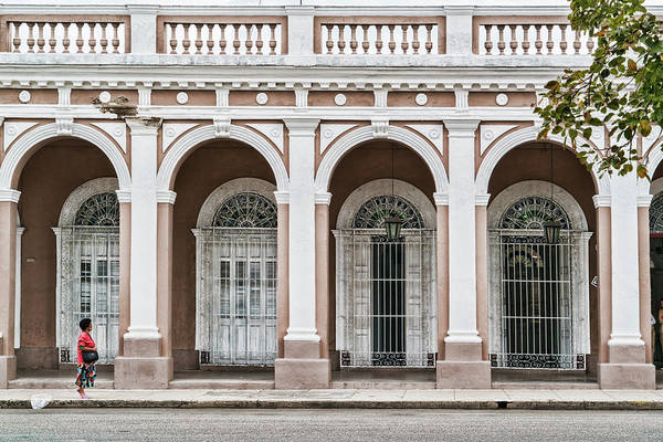 Photograph - Cienfuegos Arches by Sharon Popek