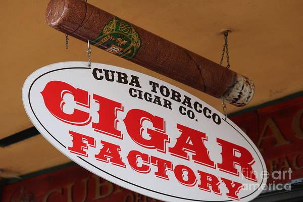 Photograph - Cigar Store Sign by Carol Groenen