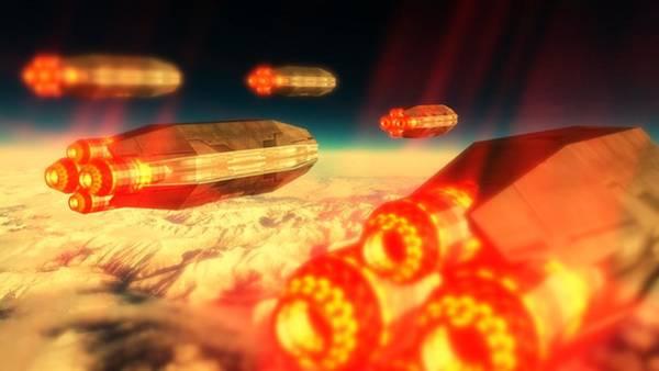 Area 51 Digital Art - Cigar Ufo By Raphael Terra by Raphael Terra