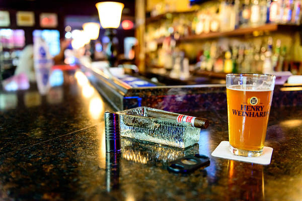 Photograph - Cigars At The Bar by Michael Scott