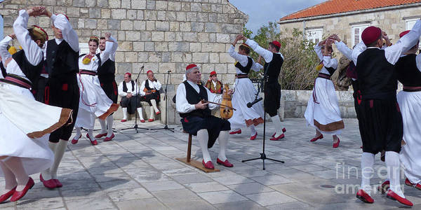 Photograph - Cilipi Folk Festival - Croatia by Phil Banks