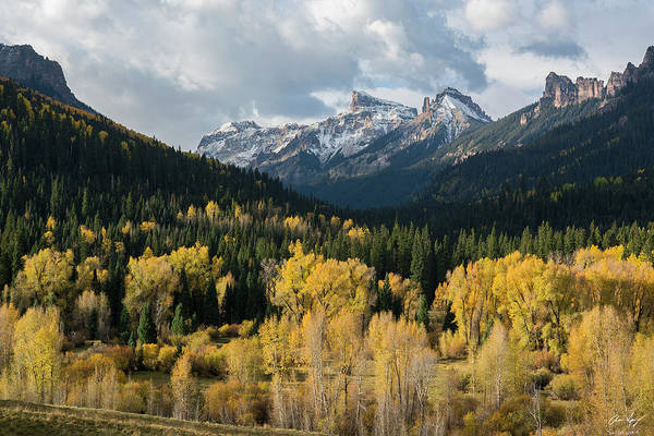 Photograph - Cimarron Autumn by Aaron Spong