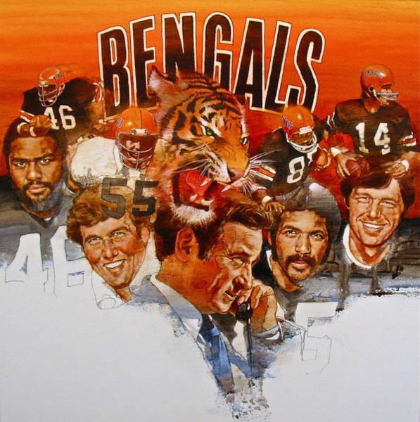 Cincinnati Bengals Art Print