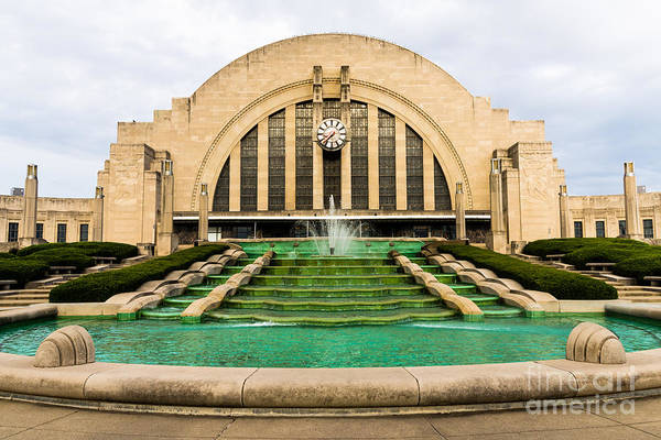 Terminal Photograph - Cincinnati Museum Center Picture by Paul Velgos
