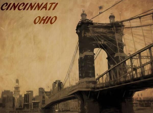 Photograph - Cincinnati Ohio by Dan Sproul
