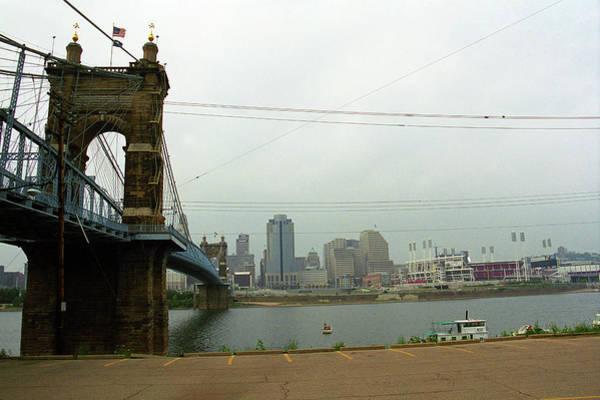 Wall Art - Photograph - Cincinnati - Roebling Bridge 7 by Frank Romeo