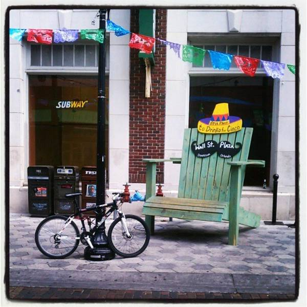 Photograph - Cinco Prep Downtown Orlando by Tammy Winand