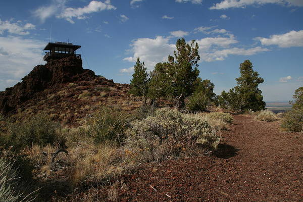 Photograph - Cinder Butte Station Trail by Dylan Punke